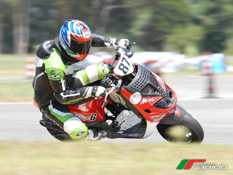 Stefano Di Muzio - Pilota Italian Scooter Racing Stage 6 ...
